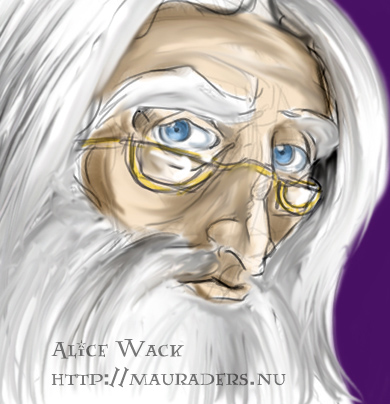 Albus Dumbledore © by Alice Wack