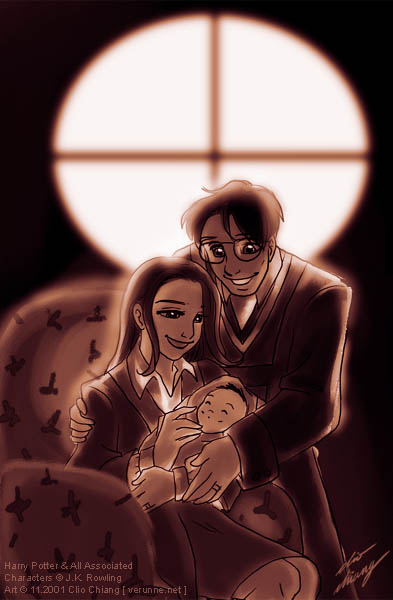 The Potter Family byby Clio Chiang.