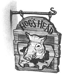 The Hog's Head by Mary GrandPré © Warner Bros.