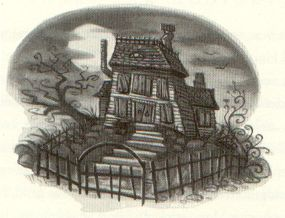 The Shrieking Shack by Mary GrandPré © Warner Bros.