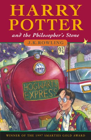 Harry Potter and the Chamber of Secrets (shown with UK cover)