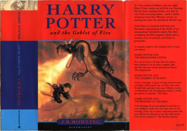 Harry Potter Book Front Cover ~ Hpl reader s guide gf cover and frontispiece