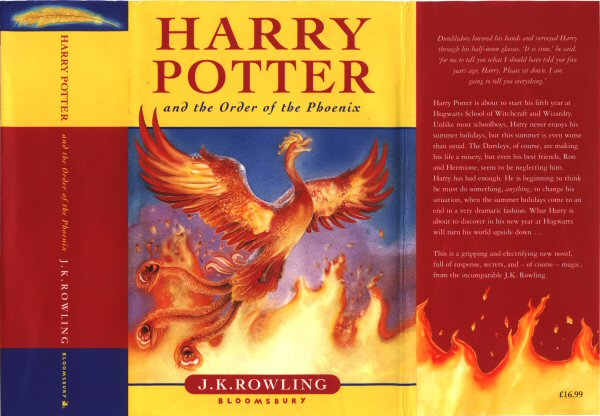 Image result for harry potter and the order book cover