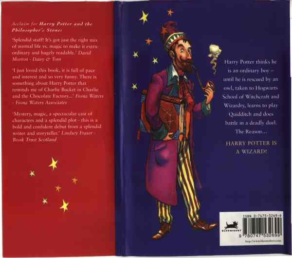 Bloomsbury, back cover art