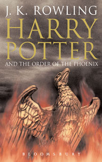 Harry Potter and the Order of the Phoenix (UK cover)