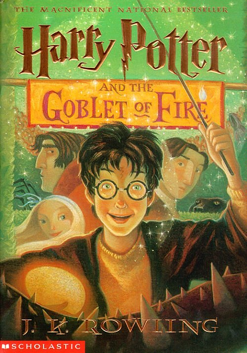 Scholastic edition cover art