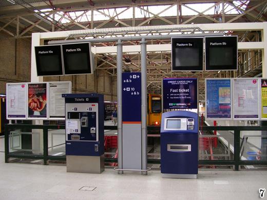 Platforms 9 and 10