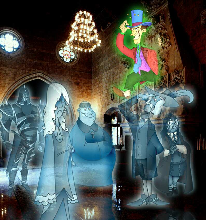 Hogwarts' Ghosts © by Edgar Torné