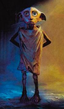 Dobby the House-Elf, courtesy Warner Brothers.