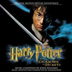 Harry Potter and the Chamber of Secrets (U.S. CD cover - Harry)