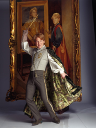 Kenneth Branagh in the role of Gilderoy Lockhart.