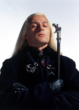 Jaxon Isaacs as Lucius Malfoy.