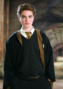 Robert Pattinson as Cedric Diggory.