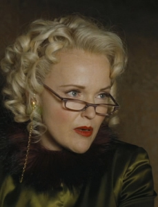 Miranda Richardson as Rita Skeeter, photo courtesy of Warner Brothers.