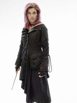 Natalia Tena as Nymphadora Tonks, photo courtesy of Warner Brothers.