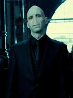 Harry's nightmare of Voldemort, courtesy of Warner Brothers.