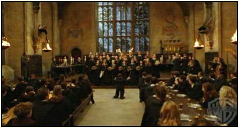 Choir scene