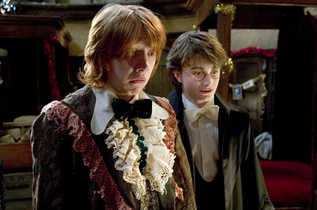 Ron's robes