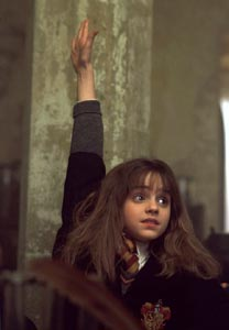 Movie scene: Hermione has the answer!