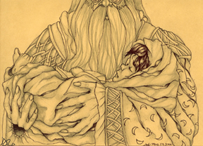 The boy Who Lived, copyright Hala Zabaneh 2006.