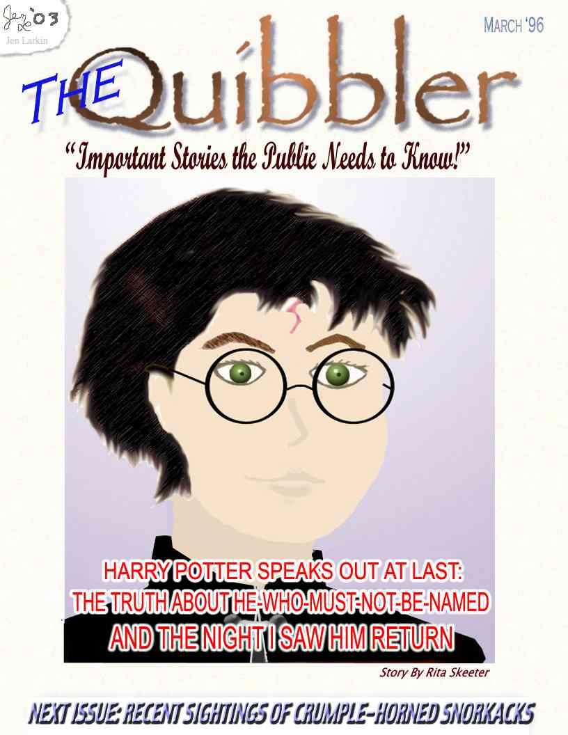 March issue of The Quibbler