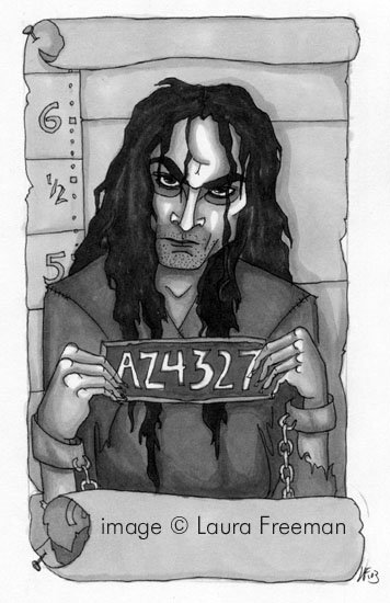 Sirius Wanted Poster © by Laura Freeman