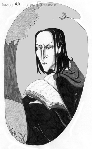 Snape After O.W.L. © Laura Freeman