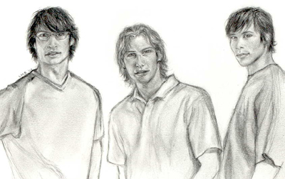 The Marauders by Lisa M. Rourke.