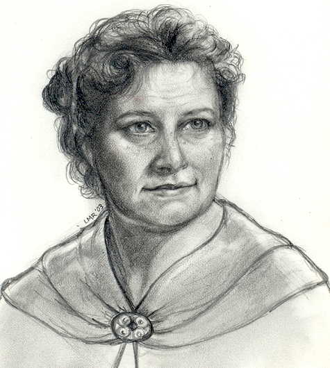 Molly Weasley by Lisa M. Rourke.
