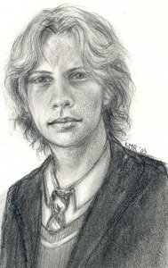 Remus Lupin (young) © 2003 by Lisa M. Rourke