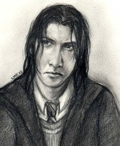 Young Severus © 2003 Lisa M. Rourke