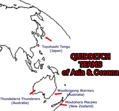 Atlas of Quidditch - Asia