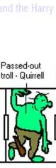 passed-out troll - Quirrell