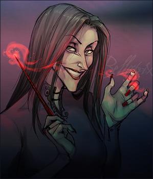 Bellatrix Lestrange, copyright Makani.