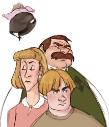 The Dursleys, copyright Makani 2006.