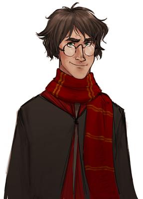 Harry Potter, copyright Makani.