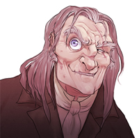 'Mad Eye' Moody, copyright Makani.