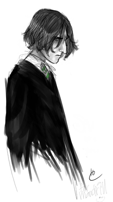Young Severus Snape, by Makani copyright 2004