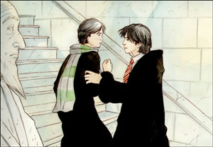 Sirius and Regulus Black, copyright Marta T.