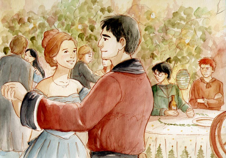 The Yule Ball by Marta T.
