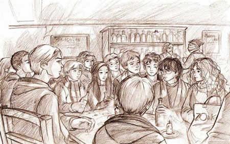 Dumbledore's Army, copyright Marta T.