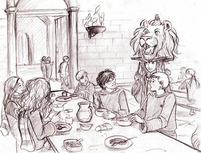 And a Lion Roars in the Great Hall by Marta T.
