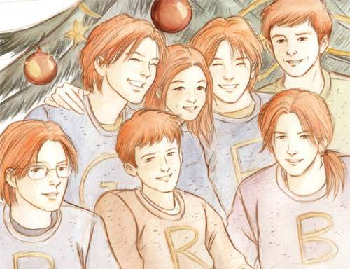 Weasley Christmas by Marta T.