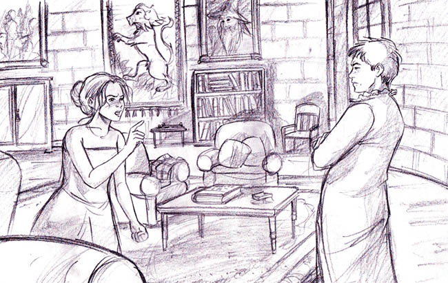 The Yule Brawl by Marta T.