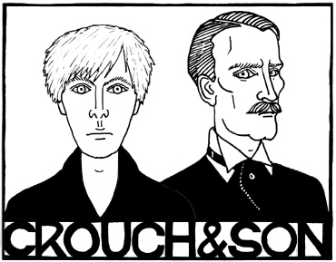 Crouch and Son, copyright Red Scharlach.