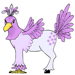 hippogriff (fancy)