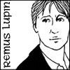 Remus Lupin, copyright Red Scharlach