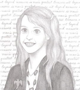 Luna Lovegood, copyright2007 Sloan de Forest.
