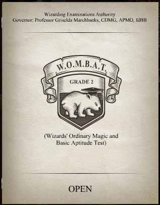 WOMBAT test 2 cover