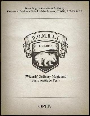 WOMBAT test 3 cover